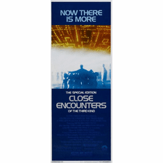 Close Encounters 14x36 Insert Movie Poster