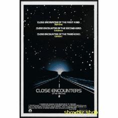 Close Encounters Of The Third Kind Movie Poster 11x17 Mini Poster