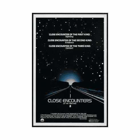 Close Encounters Of The Third Kind Movie Poster 24in x36 in