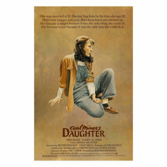Coal Miners Daughter Movie Poster 24inx36in