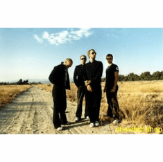 Coldplay Poster Dirt Road Country 24inx36in