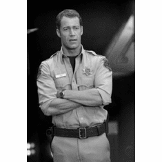 "Colin Ferguson Black and White Poster 24""x36"""