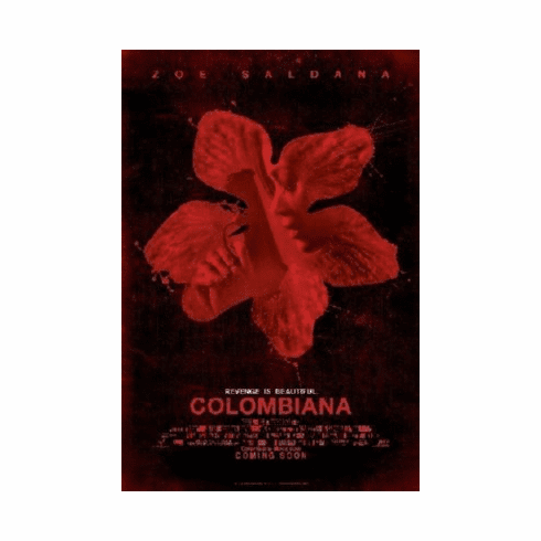 Colombiana Poster 24inx36in