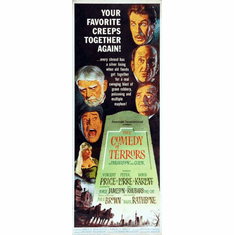 Comedy Of Terrors 14x36 Insert Movie Poster
