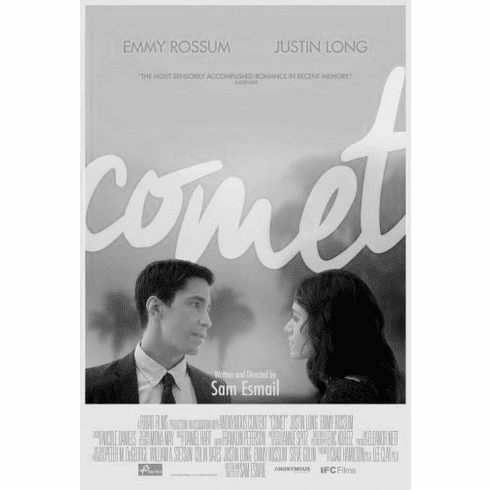 """Comet Black and White Poster 24""""x36"""""""