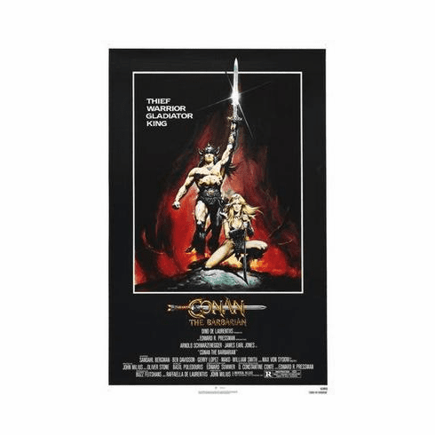 Conan The Barbarian Movie Poster 24in x36 in
