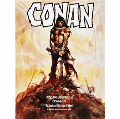 Conan The Barbarian Poster Frazetta Art 24inx36in