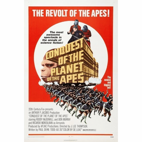 Conquest Of The Planet Apes 8x10 Photo