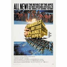 Conquest Of The Planet Of The Apes Movie Poster 24inx36in