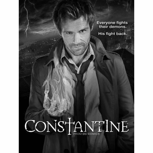 "Constantine Black and White Poster 24""x36"""
