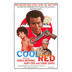 Cool Red Movie Poster 24in x36in