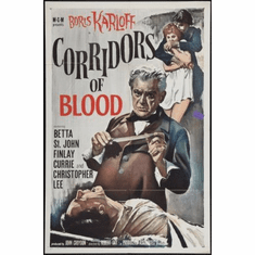 Corridors Of Blood Movie Poster 24x36 #01