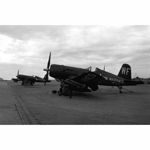 "Corsairs Black and White Poster 24""x36"""