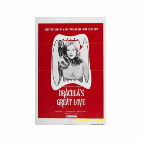 Count Dracula S Great Love Movie Poster 11x17 Mini Poster