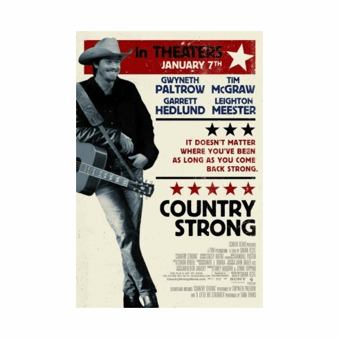 Country Strong 8x10 photo master print