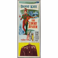 Court Jester The Movie Poster Insert 14x36 #01