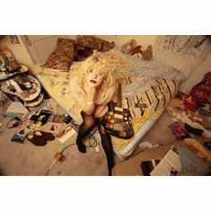 Courtney Love Poster 24x36 trashed room