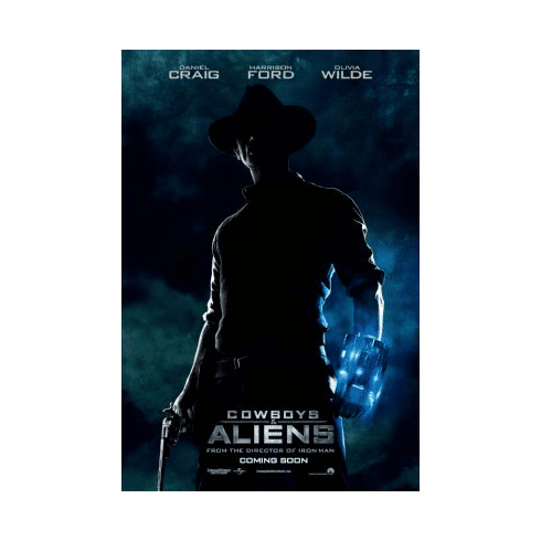 Cowboys And Aliens Mini Poster 11x17