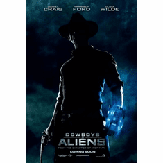 Cowboys And Aliens Movie Poster 24x36