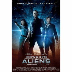Cowboys And Aliens Poster 24inx36in