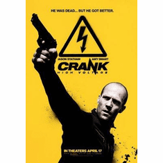 Crank High Voltage Movie Poster Jason Statham 24in x36 in
