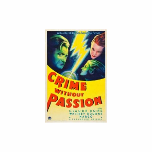 Crime Without Passion Movie 8x10 photo Master Print