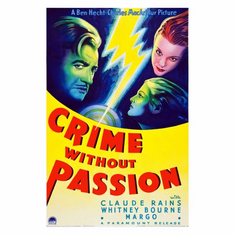 Crime Without Passion Movie Poster 24inx36in