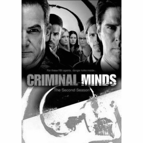 "Criminal Minds Black and White Poster 24""x36"""