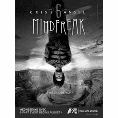 """Criss Angel Black and White Poster 24""""x36"""""""