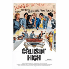 Cruisin High Poster Punks On The Move 24inx36in
