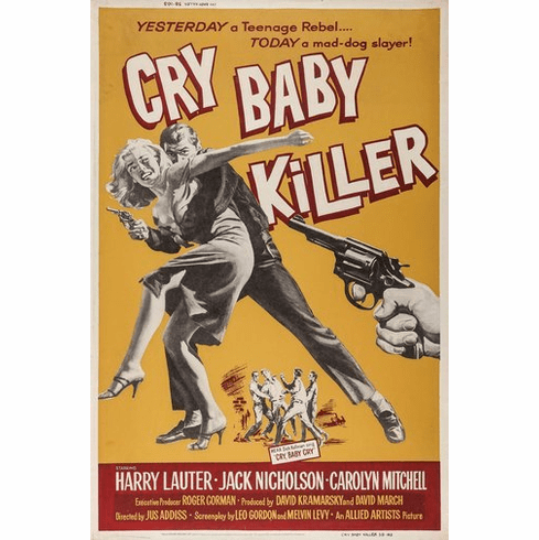 Cry Baby Killer Movie Poster 24Inx36In Poster