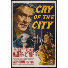 Cry Of The City Mini Movie Poster #01 11x17 Mini Poster