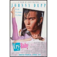 Crybaby Poster Johnny Depp 24inx36in