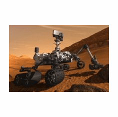 Curiousity Mars Rover Mini poster 11inx17in