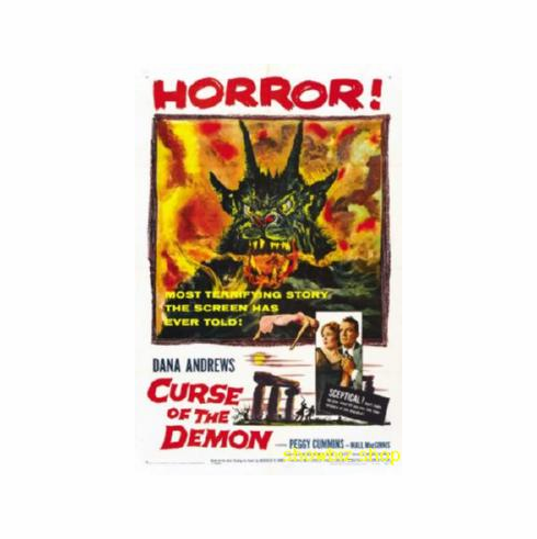 Curse Of The Demon Movie Poster 11x17 Mini Poster
