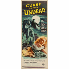 Curse Of The Undead 14inx36in Insert Movie Poster