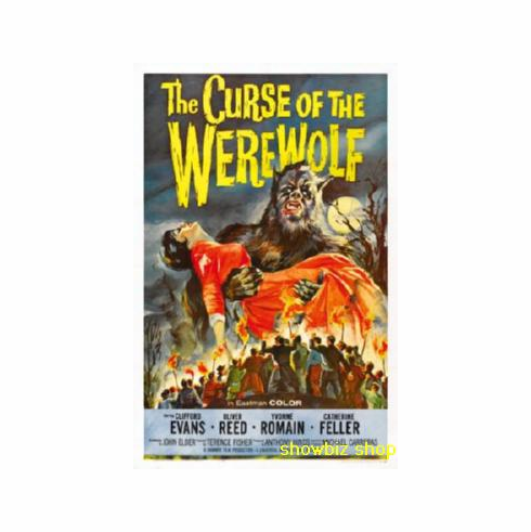 Curse Of The Werewolf Movie Poster 11x17 Mini Poster