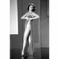 """Cyd Charisse Black and White Poster 24""""x36"""""""