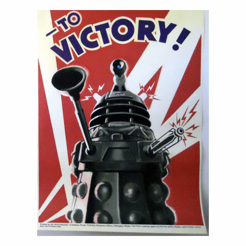 Daleks TO VICTORY DR. WHO 11x17 Mini Poster