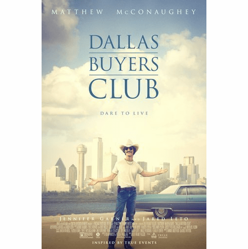 Dallas Buyers Club Poster 11Inx17In Mini Poster