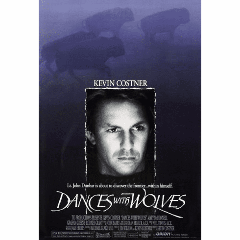 Dances With Wolves Movie Poster 24inx36in