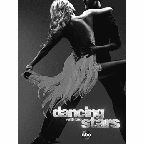 "Dancing With The Stars Black and White Poster 24""x36"""