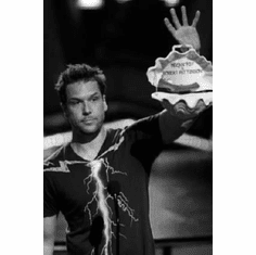 """Dane Cook Black and White Poster 24""""x36"""""""