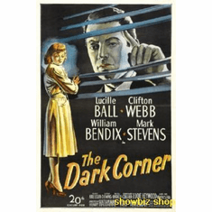 Dark Corner Poster Movie Art 24inx36in