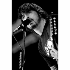 "Dave Grohl Black and White Poster 24""x36"""