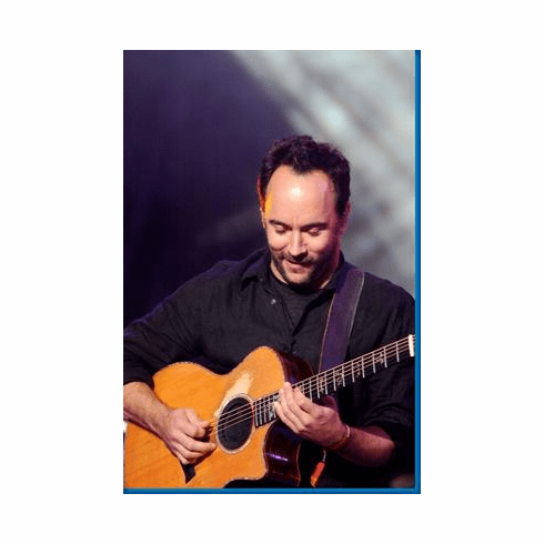 Dave Matthews Guitar Poster ON SALE!!! 24inx36in