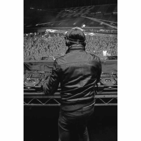 "David Guetta Black and White Poster 24""x36"""