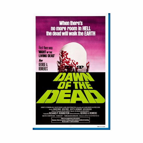 Dawn Of The Dead Movie Poster 24inx36in