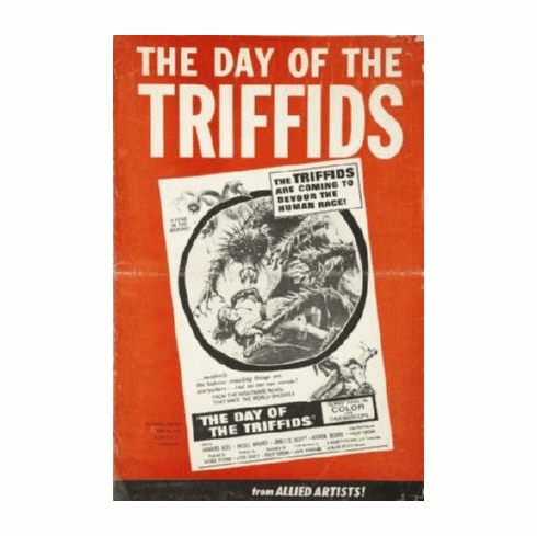 Day The Of The Triffids Movie Poster 24inx36in