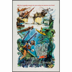 Deadly Fathoms Movie poster 24inx36in Poster